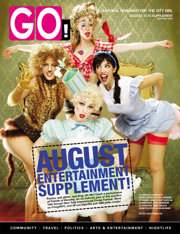 Go Magazine Reviews Dorothy and Friends